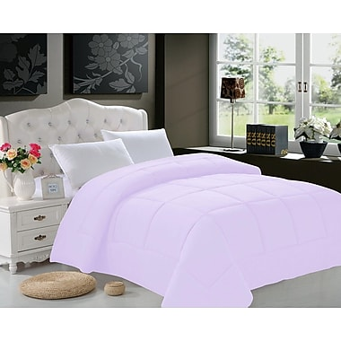 ELEGANT COMFORT All Season Down Alternative Comforter; Full/Queen