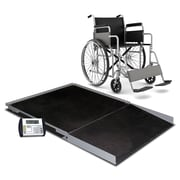 Detecto Digital Geriatric Stationary Wheelchair Scale; 48'' x 48''