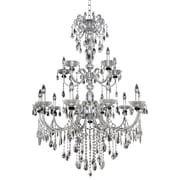 Allegri Steffani 15-Light Crystal Chandelier; Firenze Clear