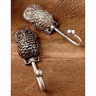 Kindwer All Seeing Owl Wall Hook (Set of 2)