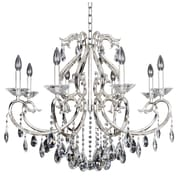 Allegri Cesti 8-Light Crystal Chandelier; Silver