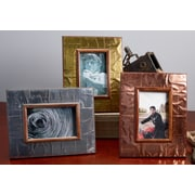 Kindwer 3 Piece Industrial Metal Picture Frame Set