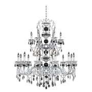 Allegri Faure 18-Light Crystal Chandelier; Firenze Clear