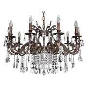 Allegri Avelli 10-Light Crystal Chandelier; Firenze Fleet Gold