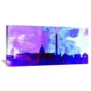 Naxart 'Washington DC City Skyline' Graphic Art on Wrapped Canvas; 24'' H x 48'' W x 1.5'' D
