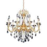 Allegri Barret 10-Light Crystal Chandelier; Firenze Clear