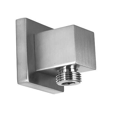Opella Wall Supply Elbow; Brushed Nickel