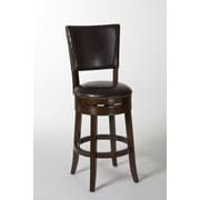Hillsdale Sonesta Swivel Bar Stool; 26''