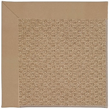 Capel Zoe Machine Tufted Biscuit and Beige Indoor/Outdoor Area Rug; Rectangle 7' x 9'