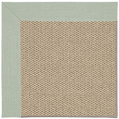 Capel Inspirit Machine Tufted Minty/Beige Area Rug; Rectangle 5' x 8'