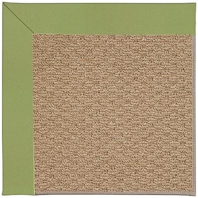 Capel Zoe Machine Tufted Green/Brown Indoor/Outdoor Area Rug; Rectangle 10' x 14'