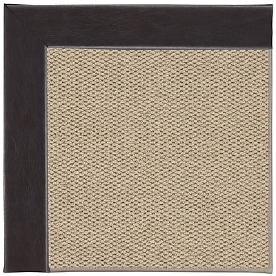 Capel Inspirit Champagne Machine Tufted Black and Beige Area Rug; Rectangle 10' x 14'