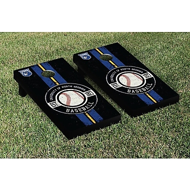 Victory Tailgate NCAA Baseball Version Cornhole Game Set; North Georgia Nighthawks