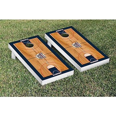 Victory Tailgate NCAA Border Basketball Version Cornhole Game Set; Queens College QC Knights
