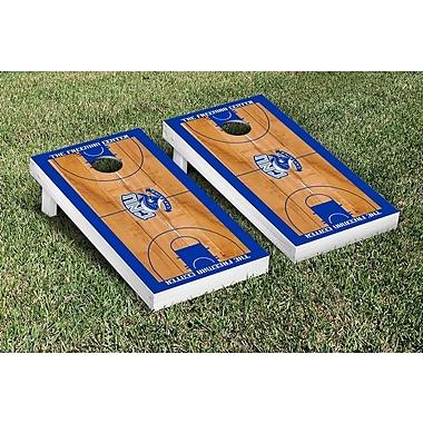 Victory Tailgate NCAA Border Basketball Version Cornhole Game Set; Christopher Newport CNU Captains