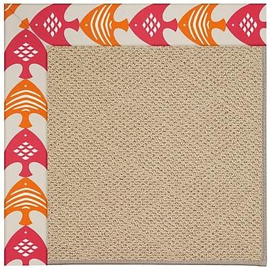 Capel Zoe Machine Tufted Autumn Indoor/Outdoor Area Rug; Rectangle 4' x 6'