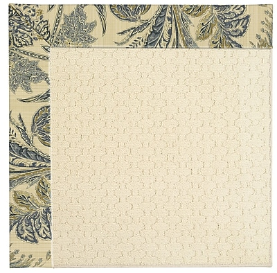Capel Zoe Cream Indoor/Outdoor Area Rug; Square 12'