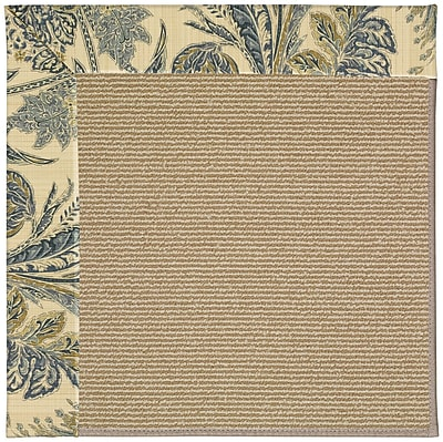 Capel Zoe Brown Indoor/Outdoor Area Rug; Rectangle 5' x 8'