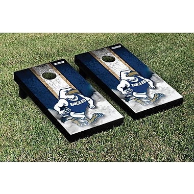 Victory Tailgate NCAA Vintage Version 2 Cornhole Game Set; Georgia Southern Eagles