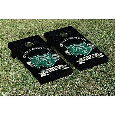 Victory Tailgate NCAA Vintage Version Banner Cornhole Game Set; Northwest Missouri State Bearcats