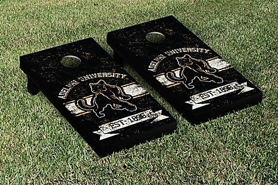 Victory Tailgate NCAA Vintage Version Banner Cornhole Game Set; Washington State WSU Cougars WYF078278336844