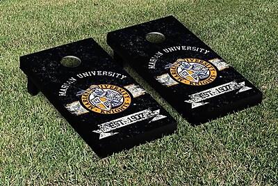 Victory Tailgate NCAA Vintage Version Banner Cornhole Game Set; Marian University Knights