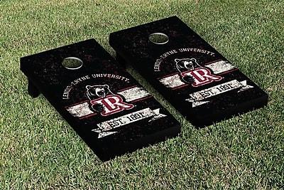 Victory Tailgate NCAA Vintage Version Banner Cornhole Game Set; Lenoir Rhyne Bears