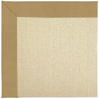 Capel Zoe Machine Tufted Bronze/Beige Indoor/Outdoor Area Rug; Rectangle 3' x 5'