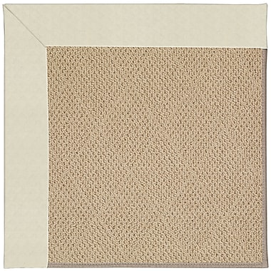 Capel Zoe Machine Tufted Cream/Beige Indoor/Outdoor Area Rug; Rectangle 5' x 8'