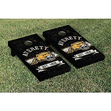 Victory Tailgate NCAA Vintage Version Banner Cornhole Game Set; Averett University Cougars