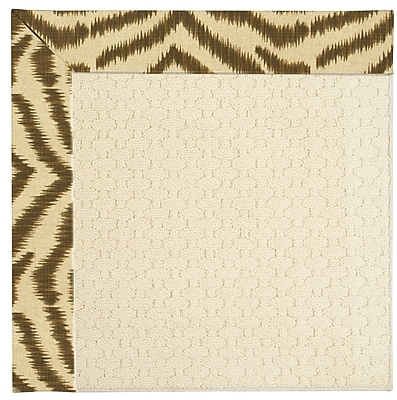 Capel Zoe Cream Indoor/Outdoor Area Rug; Rectangle 7' x 9'