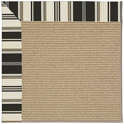 Capel Zoe Brown Indoor/Outdoor Area Rug; Rectangle 2' x 3'