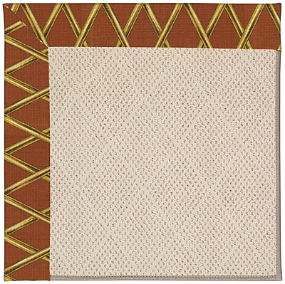 Capel Zoe Beige Indoor/Outdoor Area Rug; Square 8'