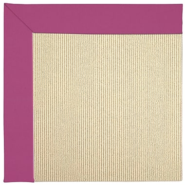 Capel Zoe Machine Tufted Fuchsia/Brown Indoor/Outdoor Area Rug; Rectangle 5' x 8'