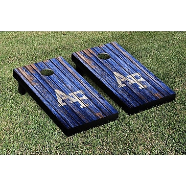 Victory Tailgate NCAA Weathered Version Corona Cornhole Game Set; West Virginia WVU Mountaineers