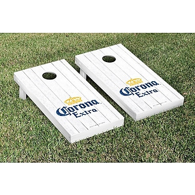 Victory Tailgate NCAA Weathered Version Corona Cornhole Game Set; Corona