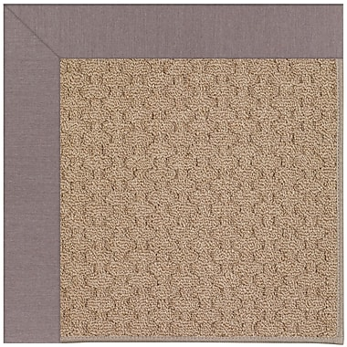Capel Zoe Grassy Mountain Machine Tufted Evening/Brown Indoor/Outdoor Area Rug; Square 4'