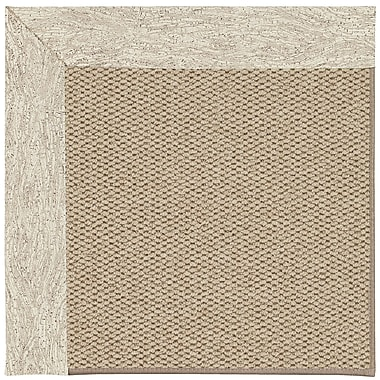 Capel Inspirit Machine Tufted Natural/Brown Area Rug; Rectangle 7' x 9'