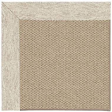 Capel Inspirit Machine Tufted Natural/Brown Area Rug; Square 10'