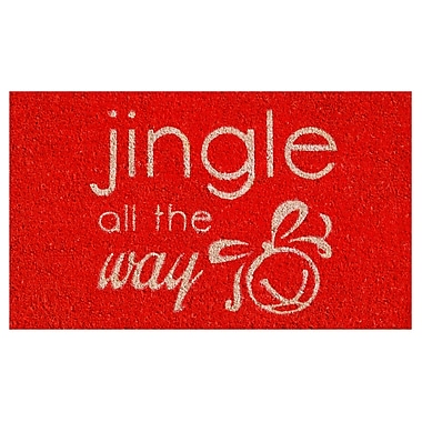 Home & More Jingle All The Way Doormat