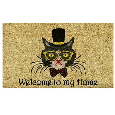 Home & More Welcome To My Home Doormat
