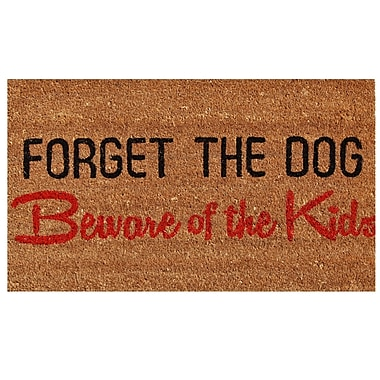Home & More Forget the Dog Doormat