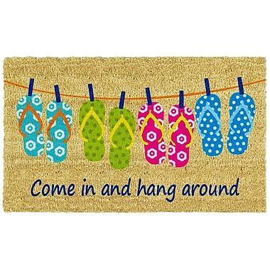 Home & More Flip-flop Fun Doormat