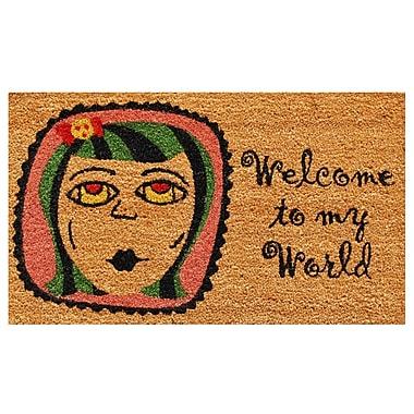 Home & More My World Doormat