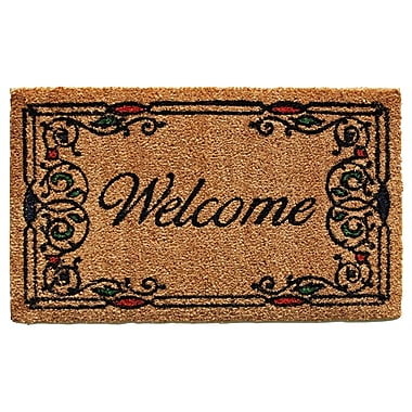 Home & More Charleston Welcome Doormat