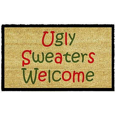 Home & More Ugly Sweaters Doormat