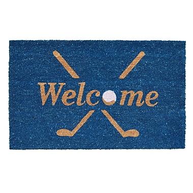 Home & More Golf Welcome Doormat