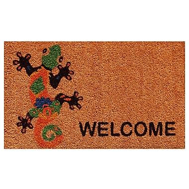 Home & More Groovy Welcome Doormat