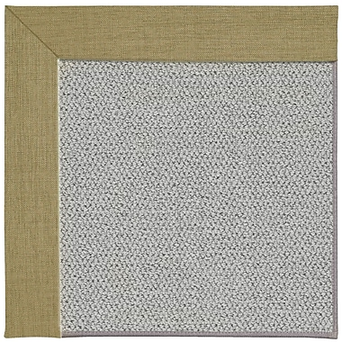 Capel Inspirit Silver Machine Tufted Basil/Gray Area Rug; Square 8'
