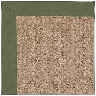 Capel Zoe Grassy Mountain Machine Tufted Plant Green/Brown Indoor/Outdoor Area Rug